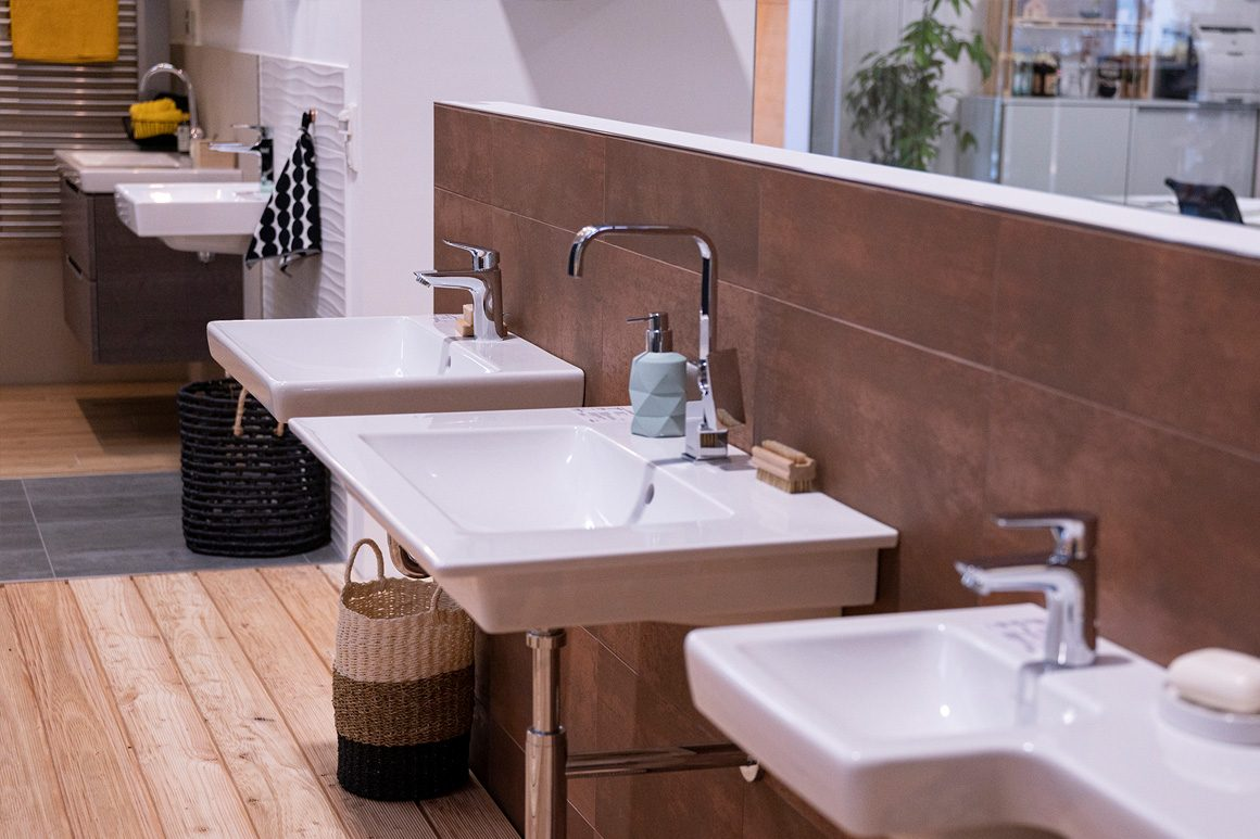 Wolf Bauherrenstudio - Bemusterung Badezimmer
