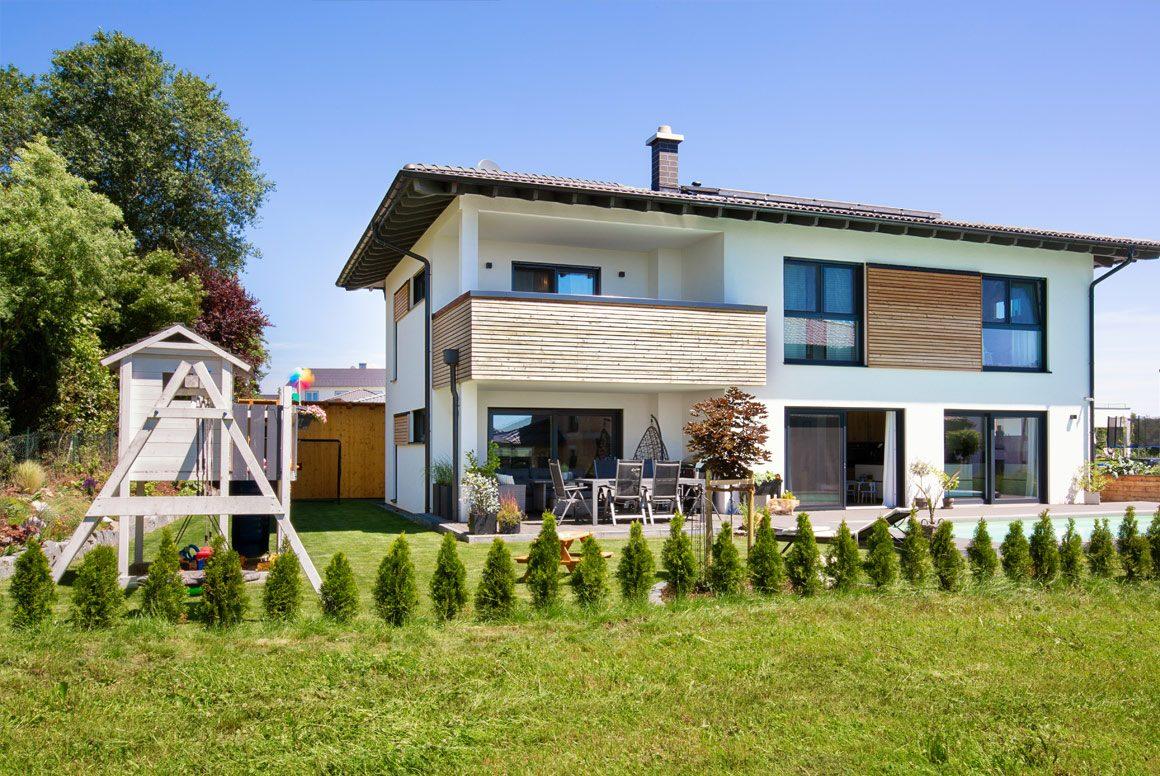 Wolfhaus Haus Krautstorfer Aussenbereich