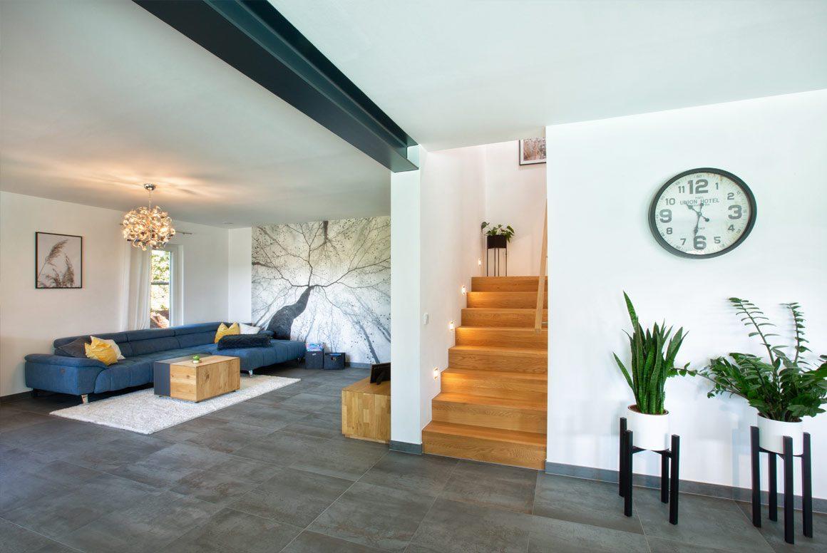 Wolfhaus Haus Krautstorfer Wohnbereich
