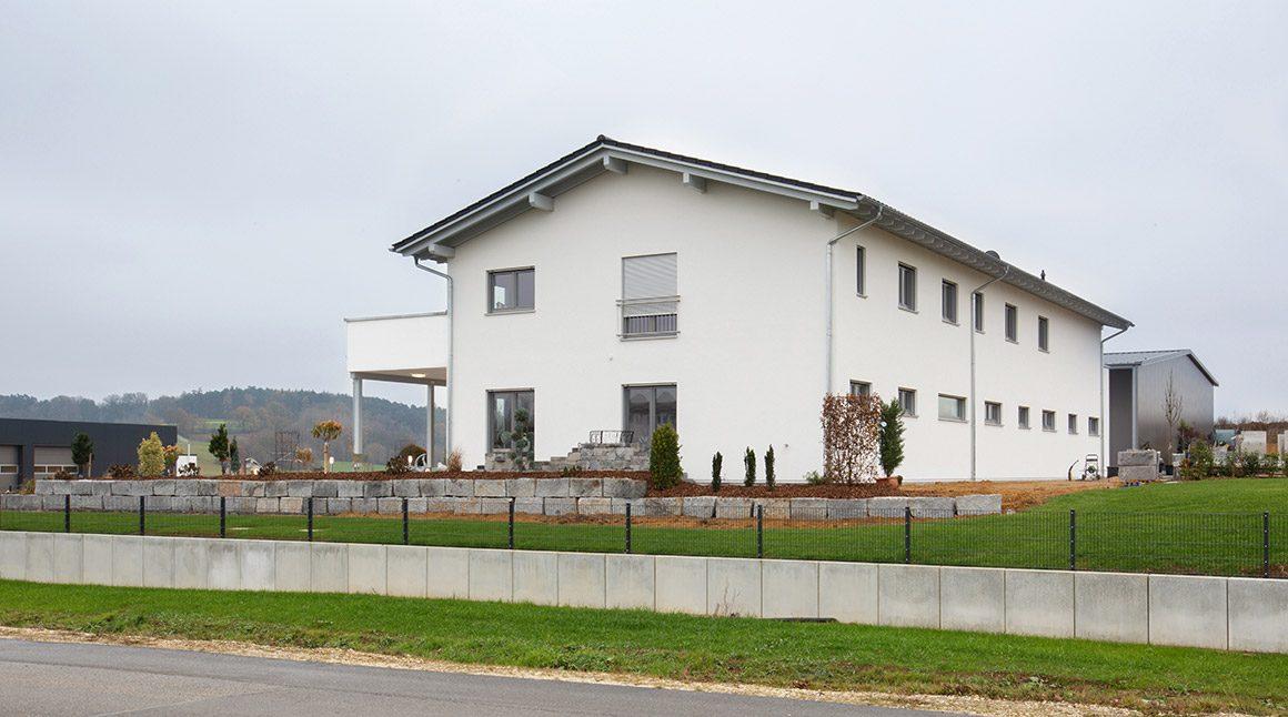 Wolfhaus Haus Zeilhofer Aussenansicht 03